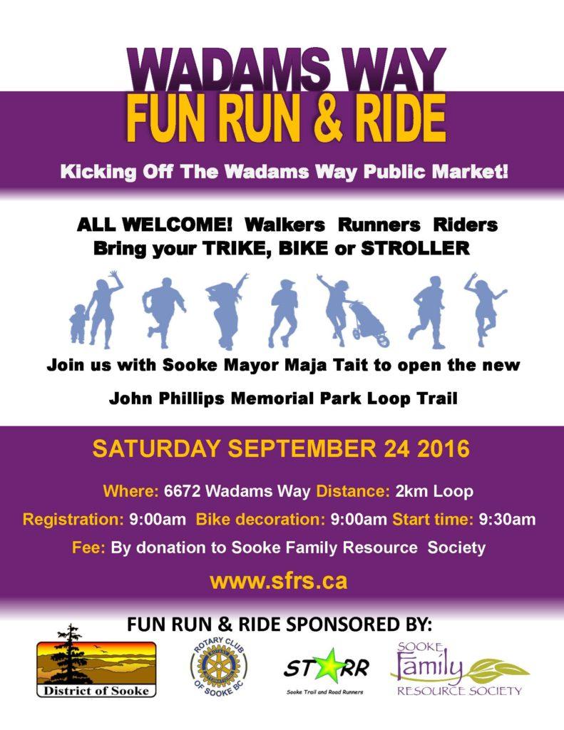 Fun Run and Ride Flyer 2016 to DoS