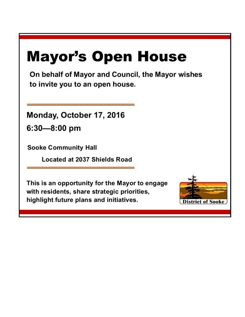 Mayor's Open House