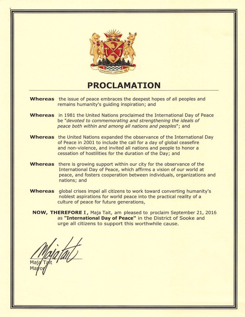 proclamation-internation-day-of-peace