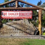 Fire Danger Rating elevated to EXTREME, limiting high-risk activities